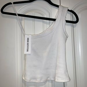 urban outfitters one shoulder tank top